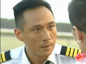 Francis Ng gazes soulfully, Triumph In The Skies, 2003