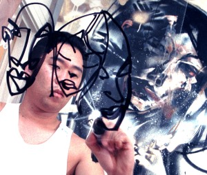 David Choe, insane, Dirty Hands, 2009