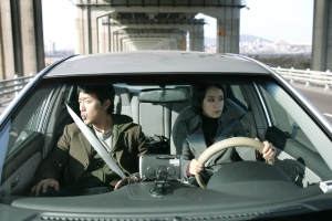 Ha Jung-Woo and Jeon Do-Yeon duke it out, My Dear Enemy, 2008