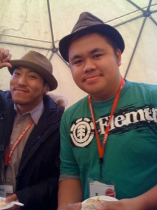 Tad Nakamura and Kevin Lim, porkpiers