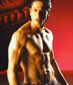 Buff, toned and cut Shah Rukh Khan, Om Shanti Om, 2008