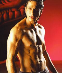 Buff, toned and cut Shah Rukh Khan, Om Shanti Om, 2008
