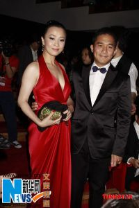 Carina Lau & Tony Leung burn up the red carpet, HKFA 2009
