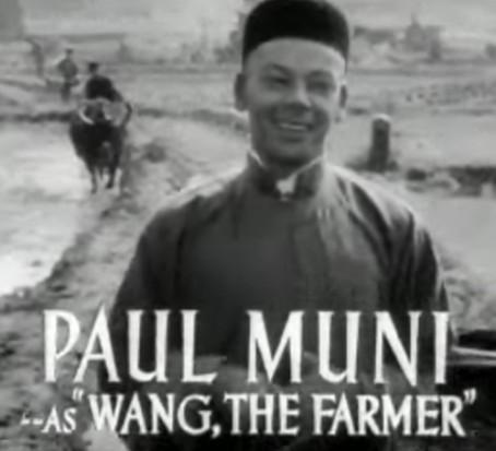 Paul Muni, non-Chinese, The Good Earth, 1937