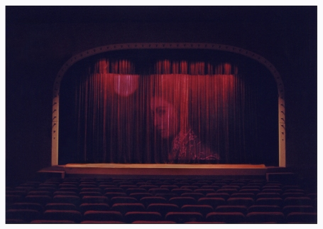 Illuminated curtain, Great Star Theater, A Moment In Time, Ruby Yang, 2010