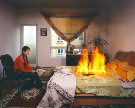 Liyu + Liubo, Failing to Steal Anything, a Thirteen-year-old girl Sets Fire to Classmate's Home, 2006