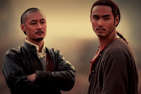 Brotherly love, Shawn Yue and Ethan Ruan, The Guillotines, 2012