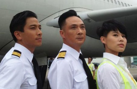 Francis Ng, Ron Ng, Myolie Wu, aligned, Triumph In The Skies 2, 2013