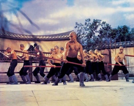 Gordon Liu works it, 36th Chamber of Shaolin, 1977