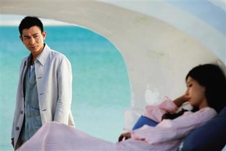 Andy Lau Tak-Wah beaching it, Switch, 2013