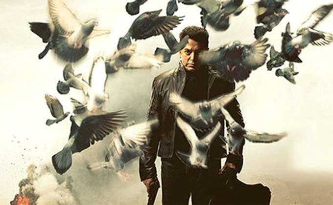 Kamal Hasan and ominous pigeons, Vishwaroopam, 2013