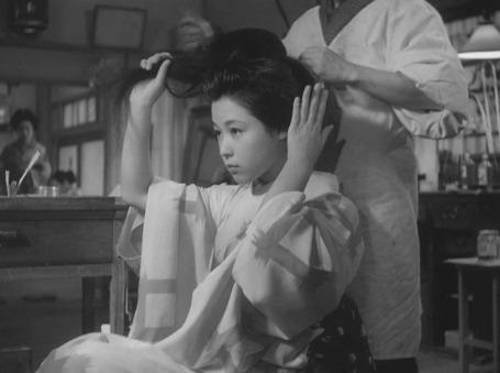 Coiffed, A Geisha, 1953
