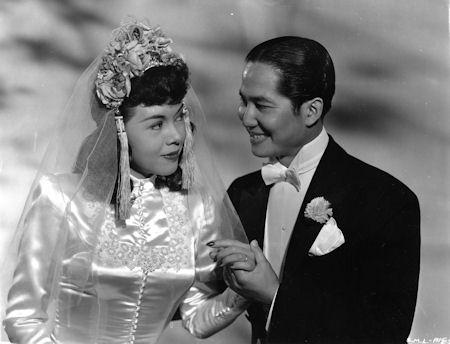 Sleek and sexy, Marya Marco and Keye Luke , Sleep, My Love, 1948