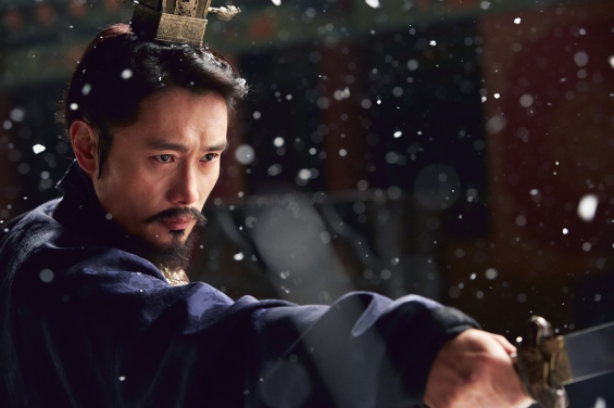 Lee in snow, Memories of the Sword, 2015