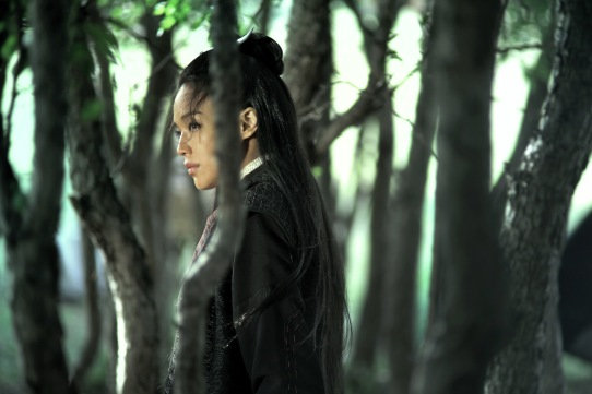 Shu Qi and trees, The Assassin, 2015